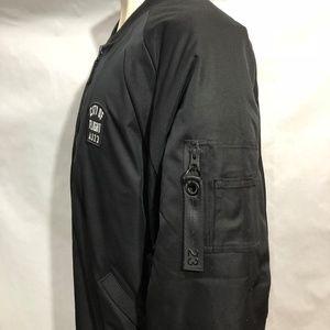230a2bf23a6 Jordan Jackets & Coats - Air Jordan City Of Flight AJ23 Black Bomber Jacket